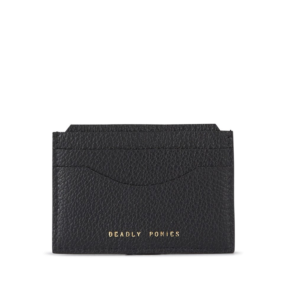 Deadly Ponies Card File Black