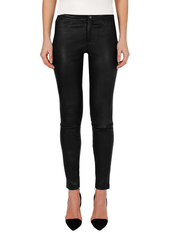 Luxe Black Leather Pants