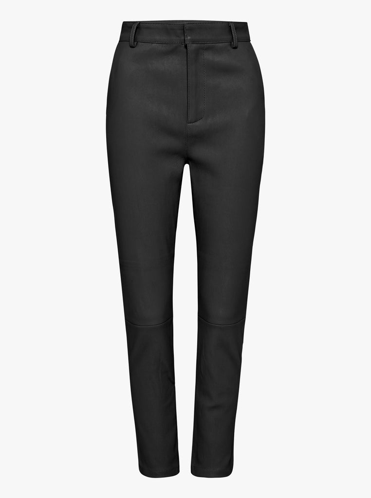 Luxe Black Second Skin Leather Pant