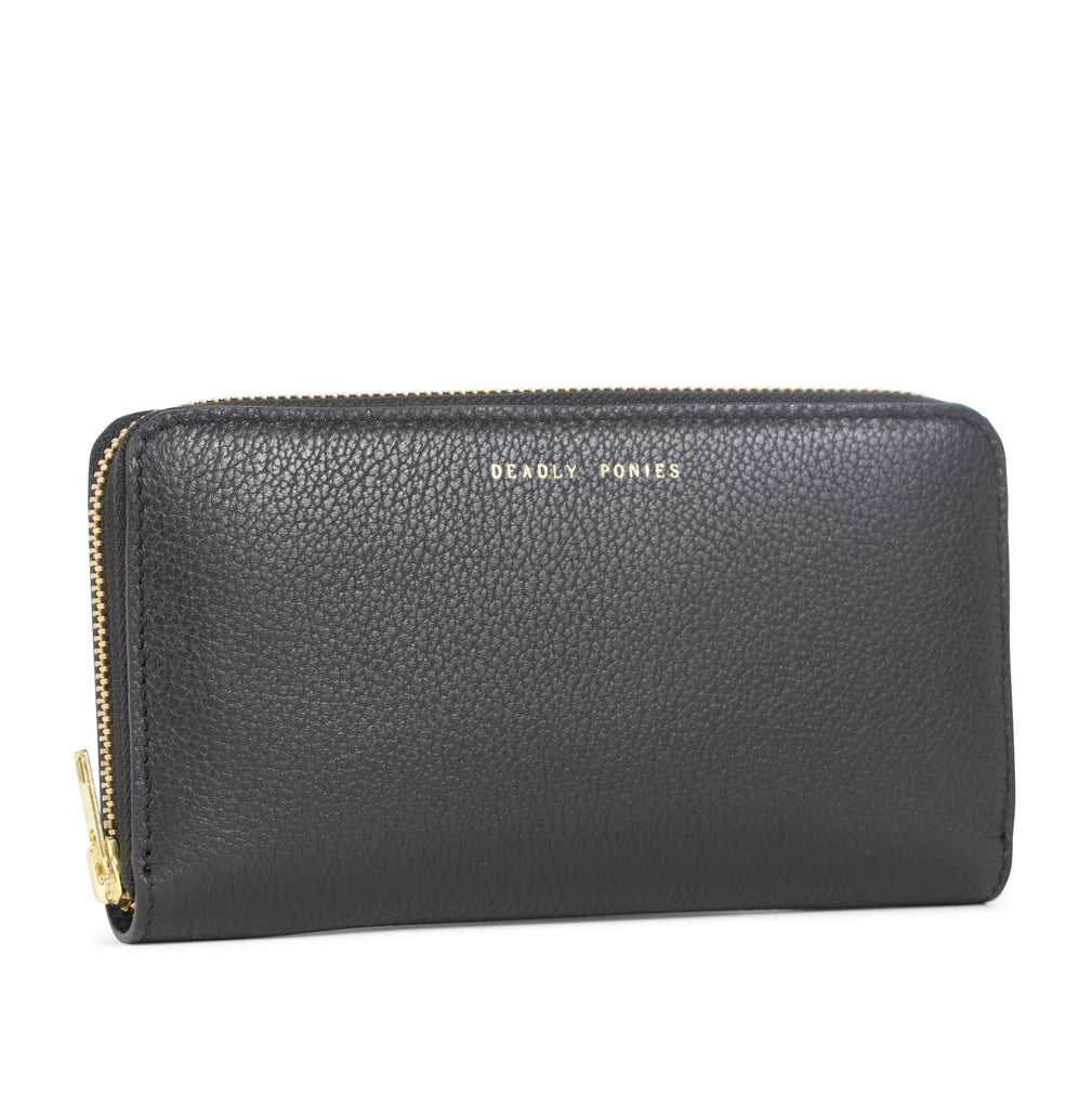 Deadly Ponies Mr Wallet - Black
