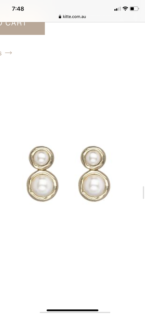 Pearl Affair Earrings