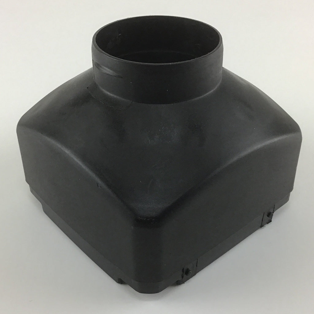 Air Outlet Hood Ø 60mm -  2kW Plastic Case