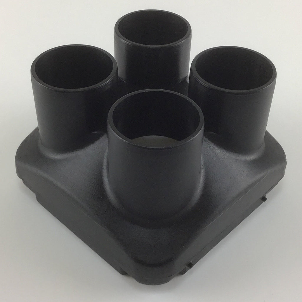 Air Outlet Hood Ø 4x43mm - 2kW Plastic Case