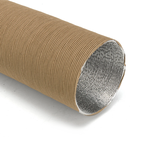 Duct Hose / Air Intake Hose Brown Ø 25mm