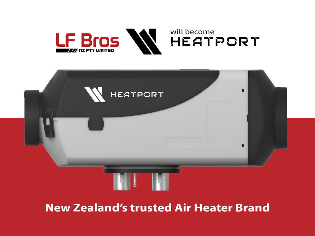 Motorhome Air Heater - much safer than fireplace or gas / lpg heater