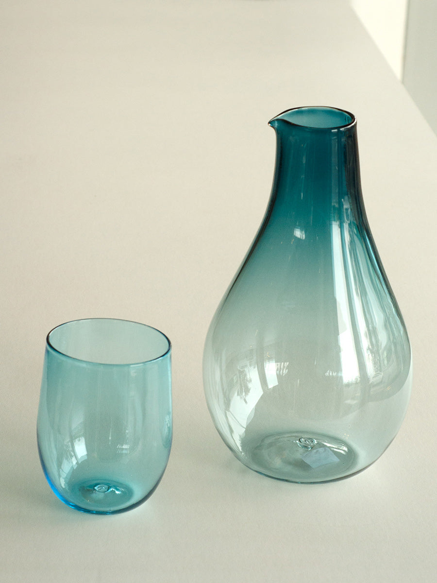 Monmouth Glass Carafe + Glass