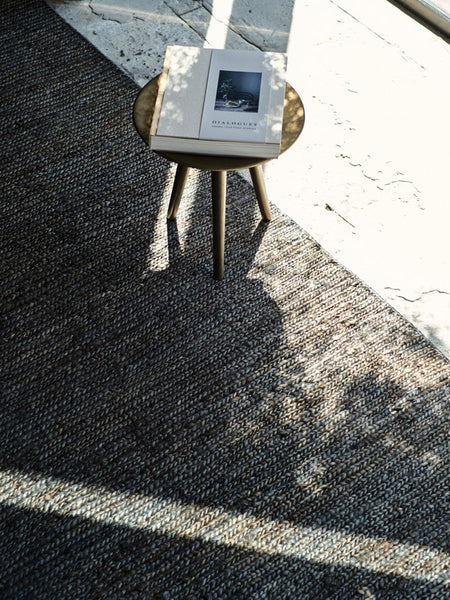 Braided Jute - Charcoal - Nodi Rugs