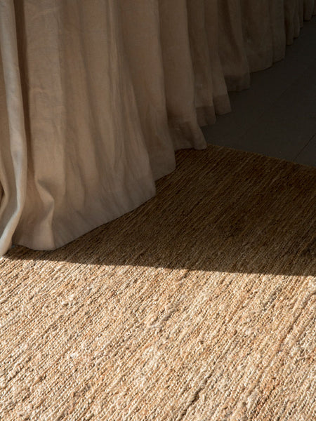 Braided Jute - Natural - Nodi Rugs | Tessuti NZ