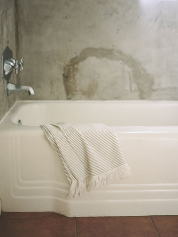 Lulu Cotton Towels - Taupe