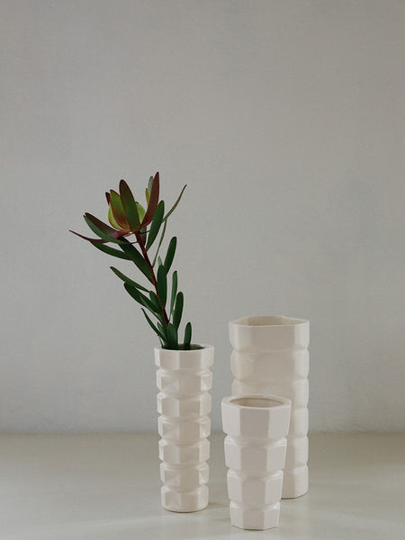 Tower Vase | Rachel Carley Ceramics | Tessuti NZ