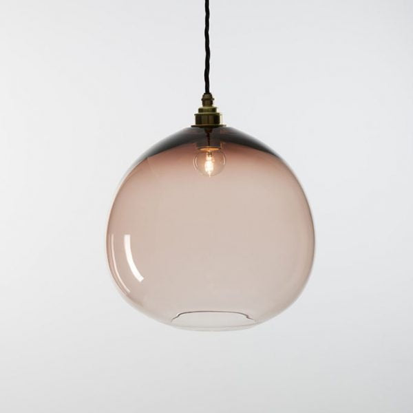 Dome Pendant | Monmouth Glass Studio | Tessuti NZ