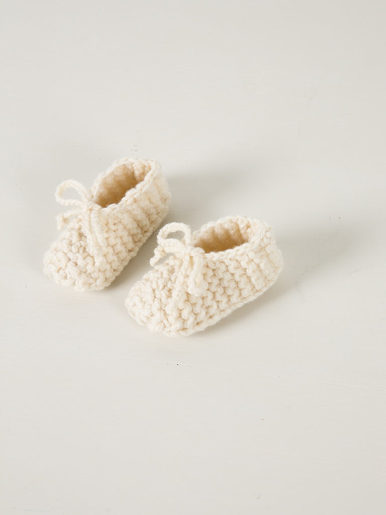 Hand Knitted Chunky Booties - Weebits