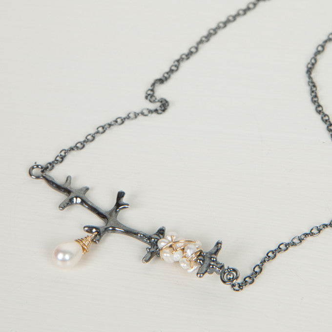 Branch Necklace - Louise Douglas Jewellery | Tessuti NZ