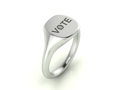 VOTE Signet Ring