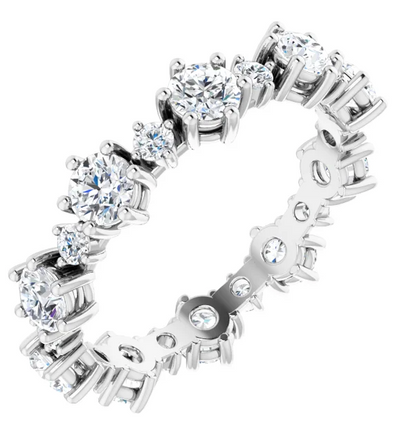 Royal Diamond Eternity Ring