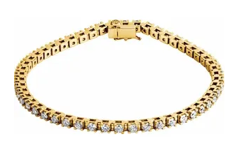 Diamond Tennis Bracelet - Medium