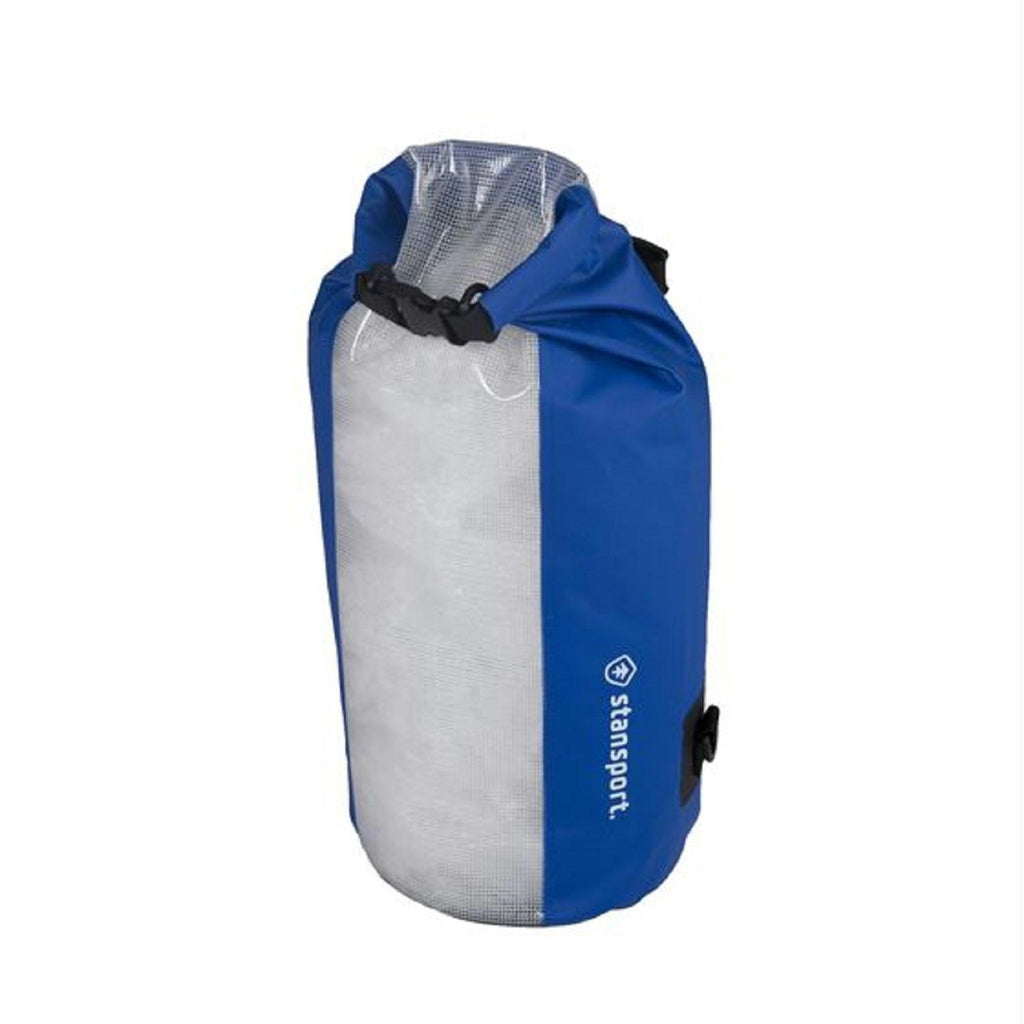 Stansport Waterproof Dry Bag 20 Liter Clear Panel