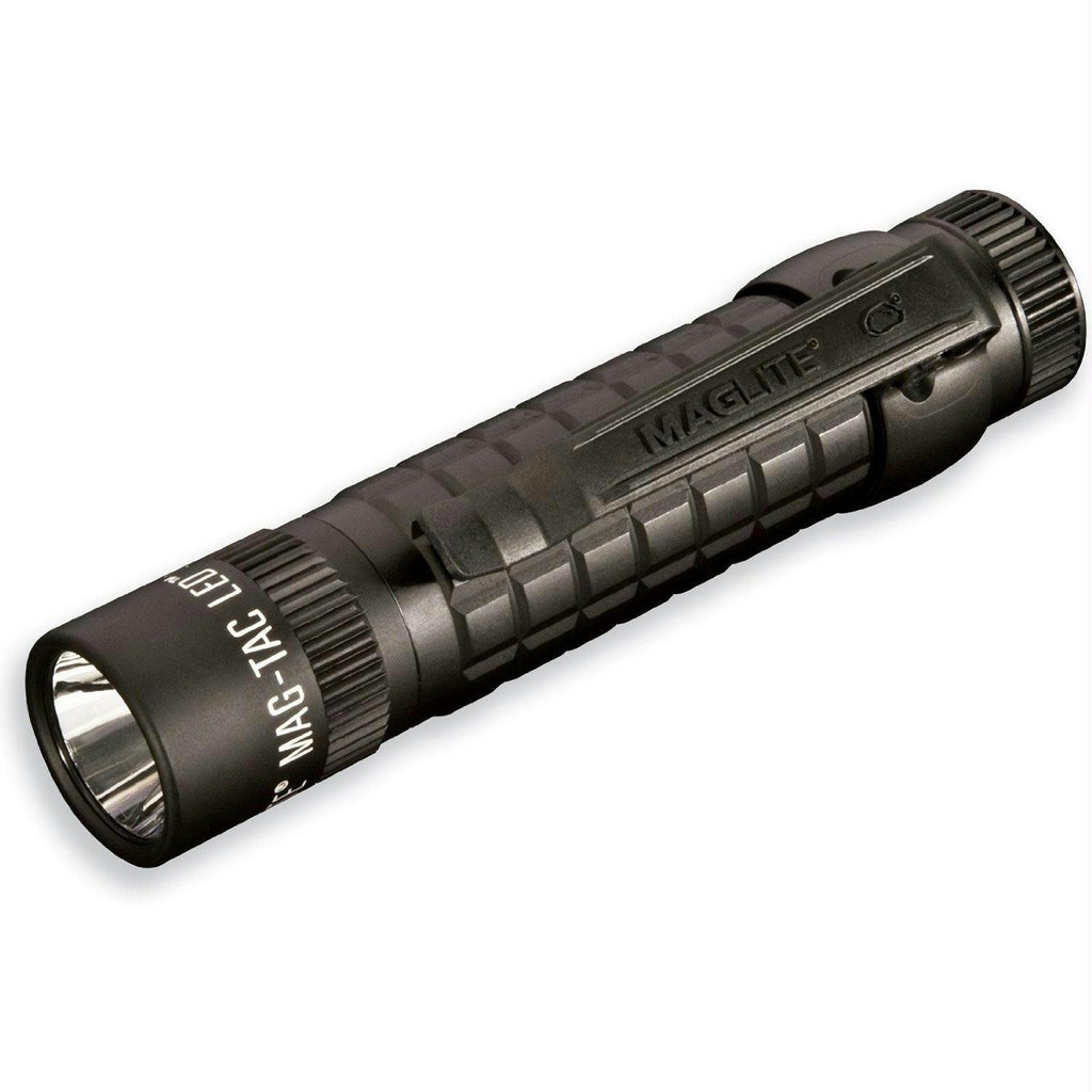 Maglite Mag-Tac LED Rechargeable Flashlight Matte Black