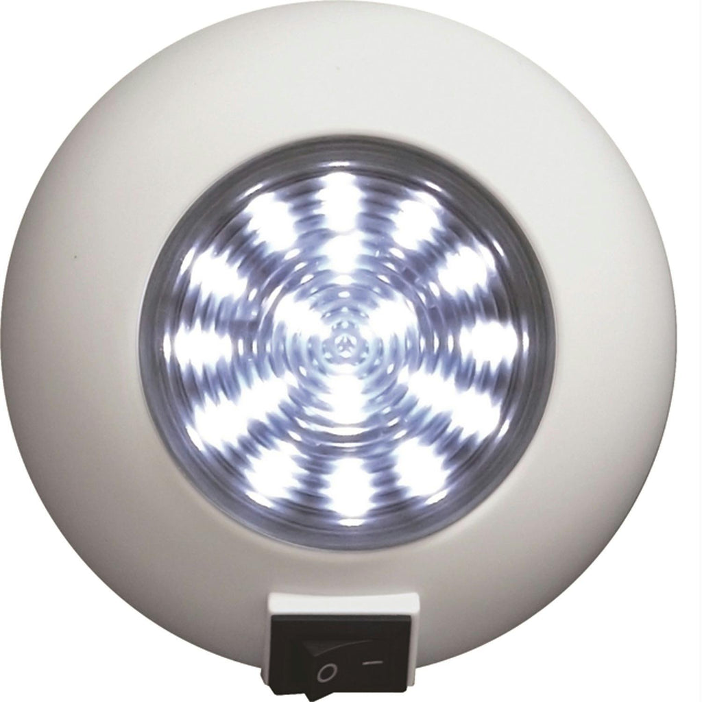 SeaSense Surface Mount 18 LED Super Bright Light - White