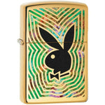 Zippo Brass Fusion Playboys Signature Logo Lighter
