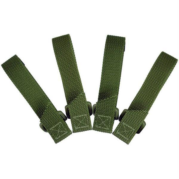 Maxpedition 3 Inch TacTie OD Green 4 Pack
