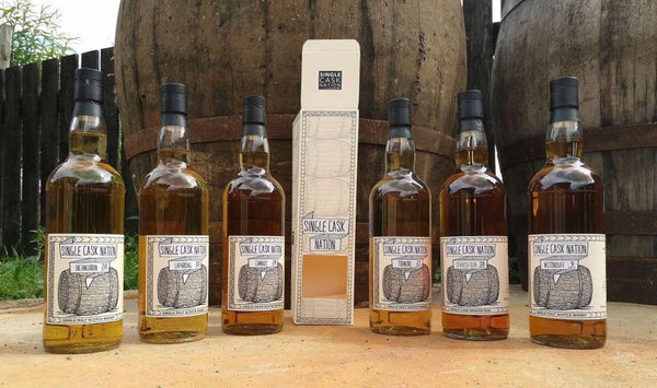 Single Cask Nation Retail Release # 2 to start hitting shelves mid-to-late October 2017!