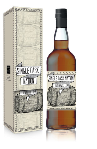 Single Cask Nation Ben Nevis cask 2011 sherry puncheon