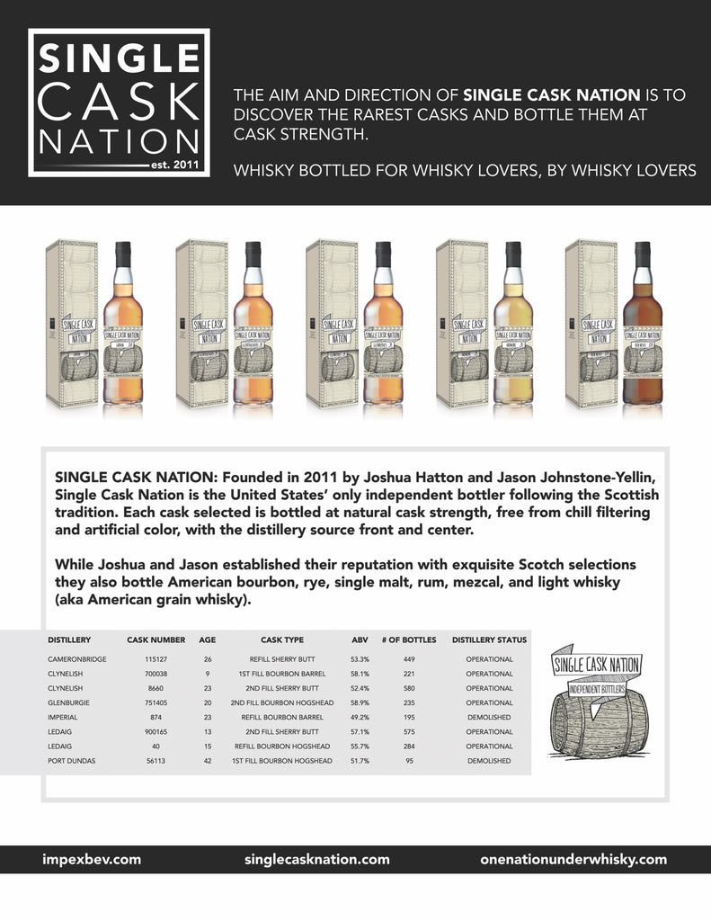 Single Cask Nation Retail Release #5 Coming to the US soon!