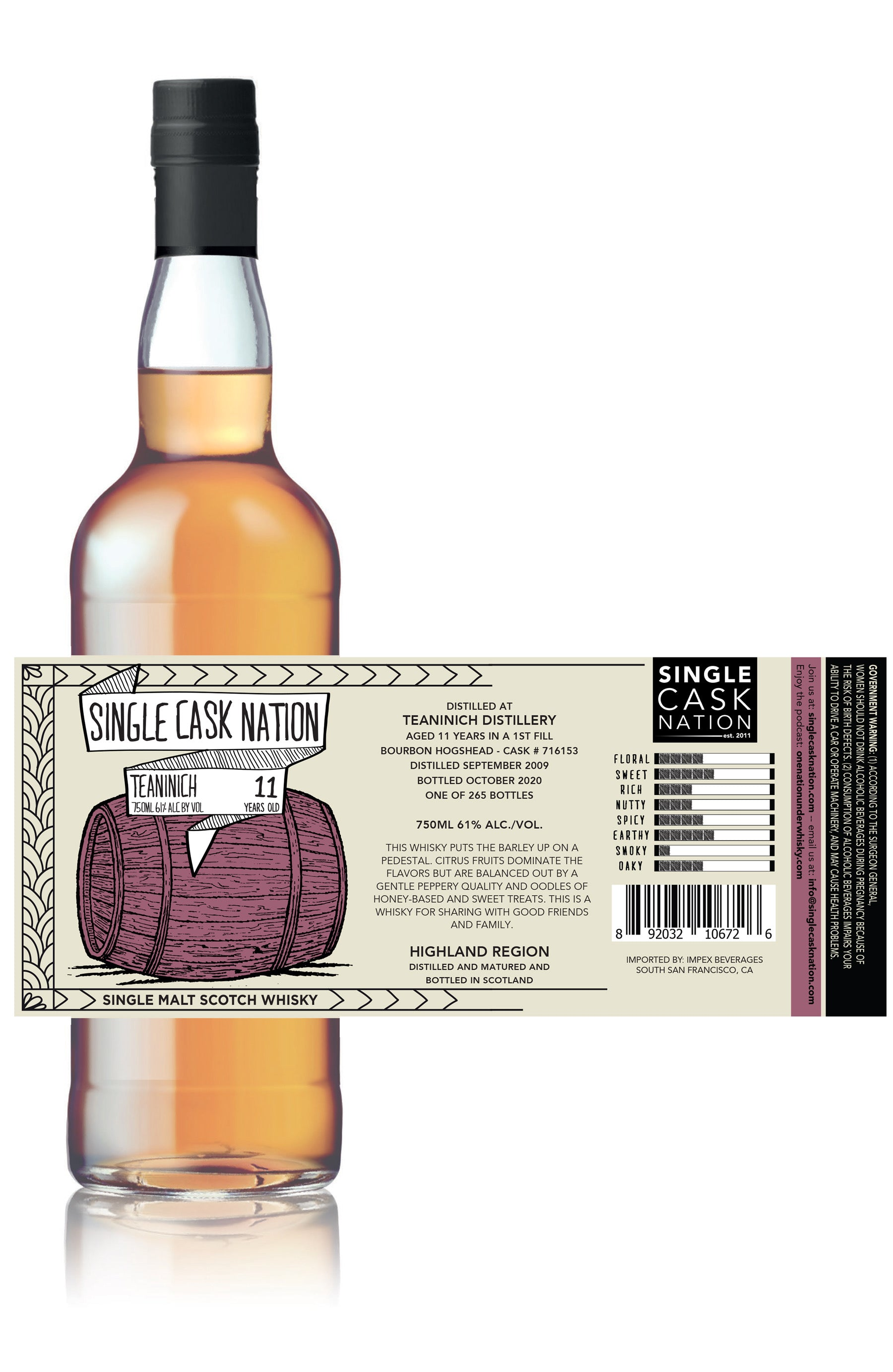 Single Cask Nation US Retail Release #6.5 Available Now!
