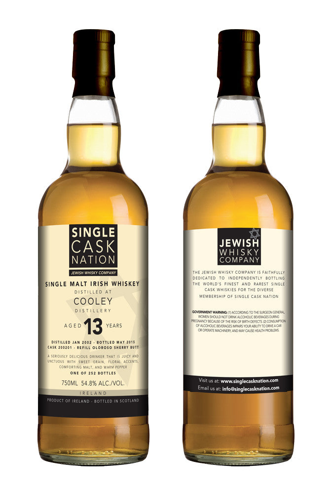 Cooley 13, Refill Sherry Butt - Single Cask Nation®