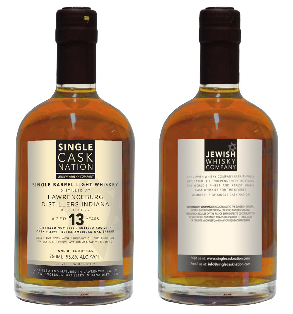 LDI Light Whiskey 13, Refill Barrel - ARCHIVED - Single Cask Nation®