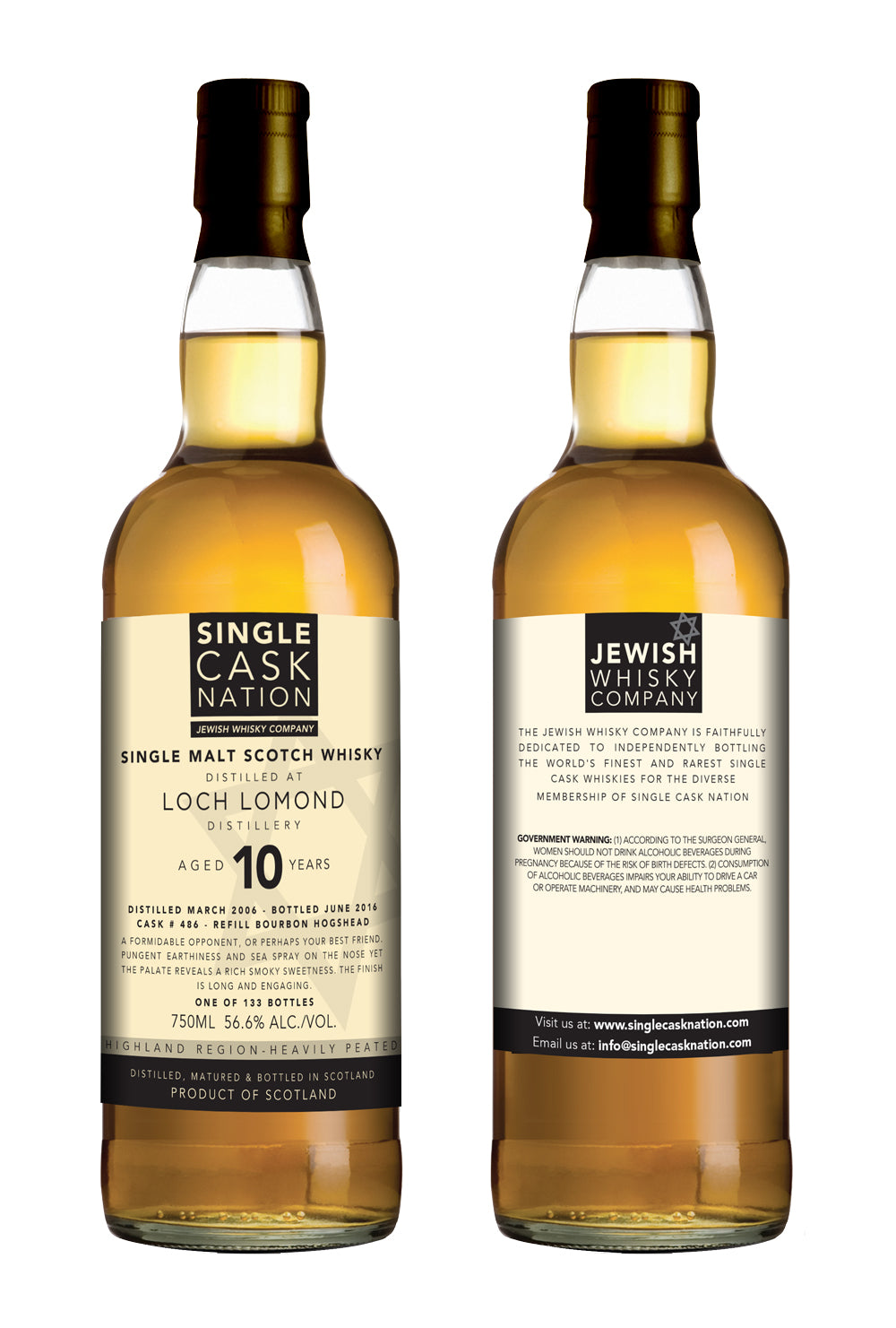 Loch Lomond 10, Refill Bourbon Hogshead - ARCHIVED