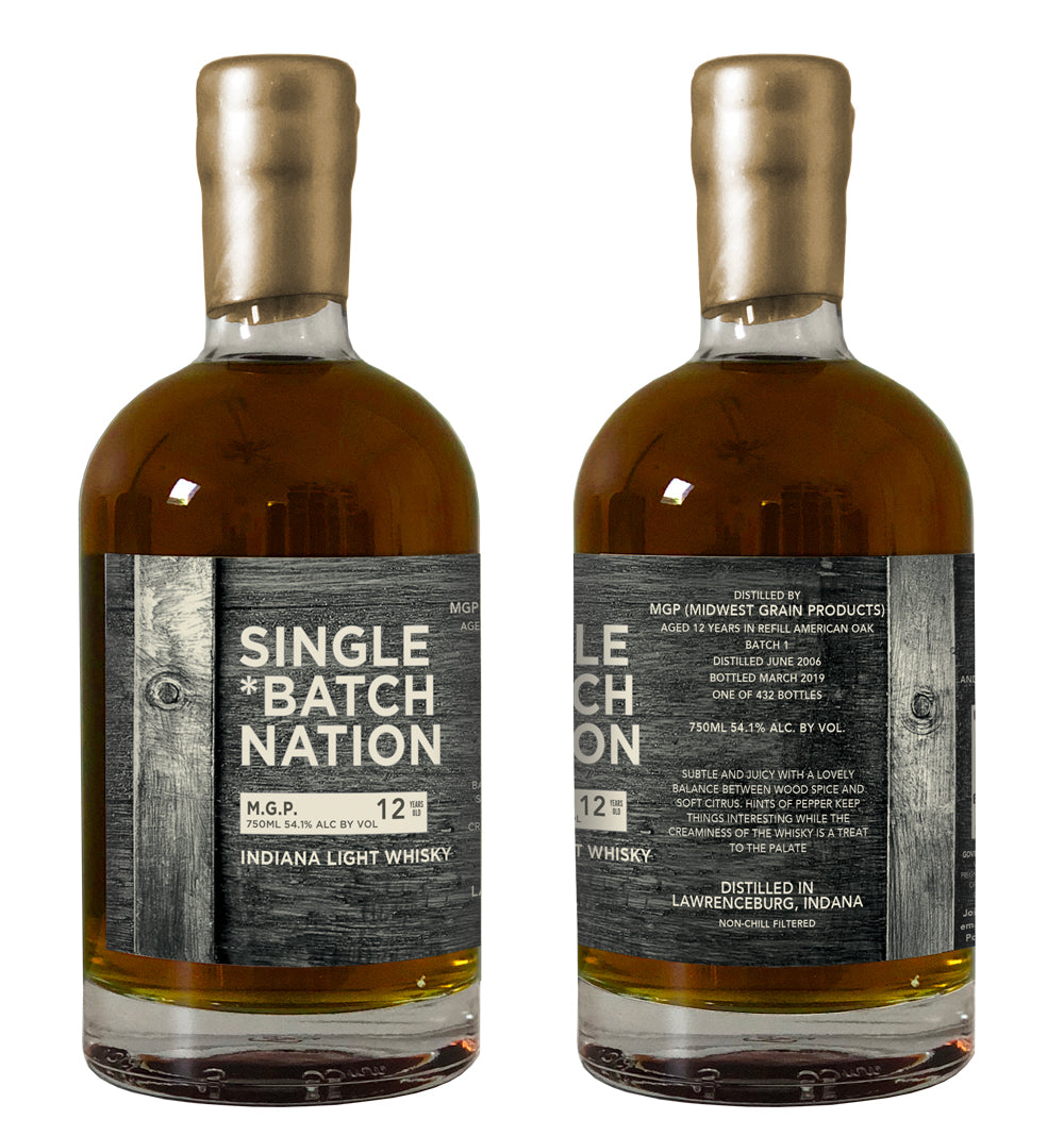 MGP Light Whisky 12, Batch 1, Bourbon/Rye/IPA Cask Finish