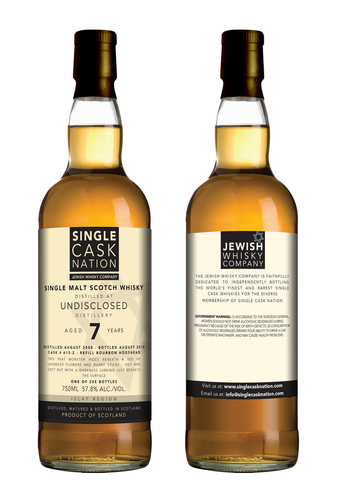 Undisclosed Islay 7, 2nd release, 2008 distillate, Bourbon Hogshead - ARCHIVED