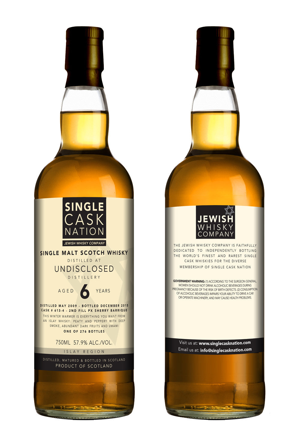 Undisclosed Islay 6, 4th release, 2009 distillate, PX Barrique - ARCHIVED - Single Cask Nation®