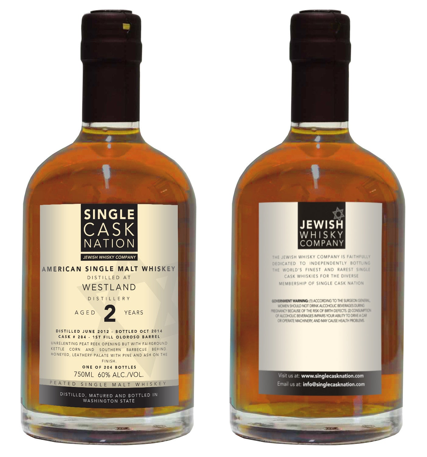 Westland 2, Oloroso Sherry Barrel - ARCHIVED - Single Cask Nation®