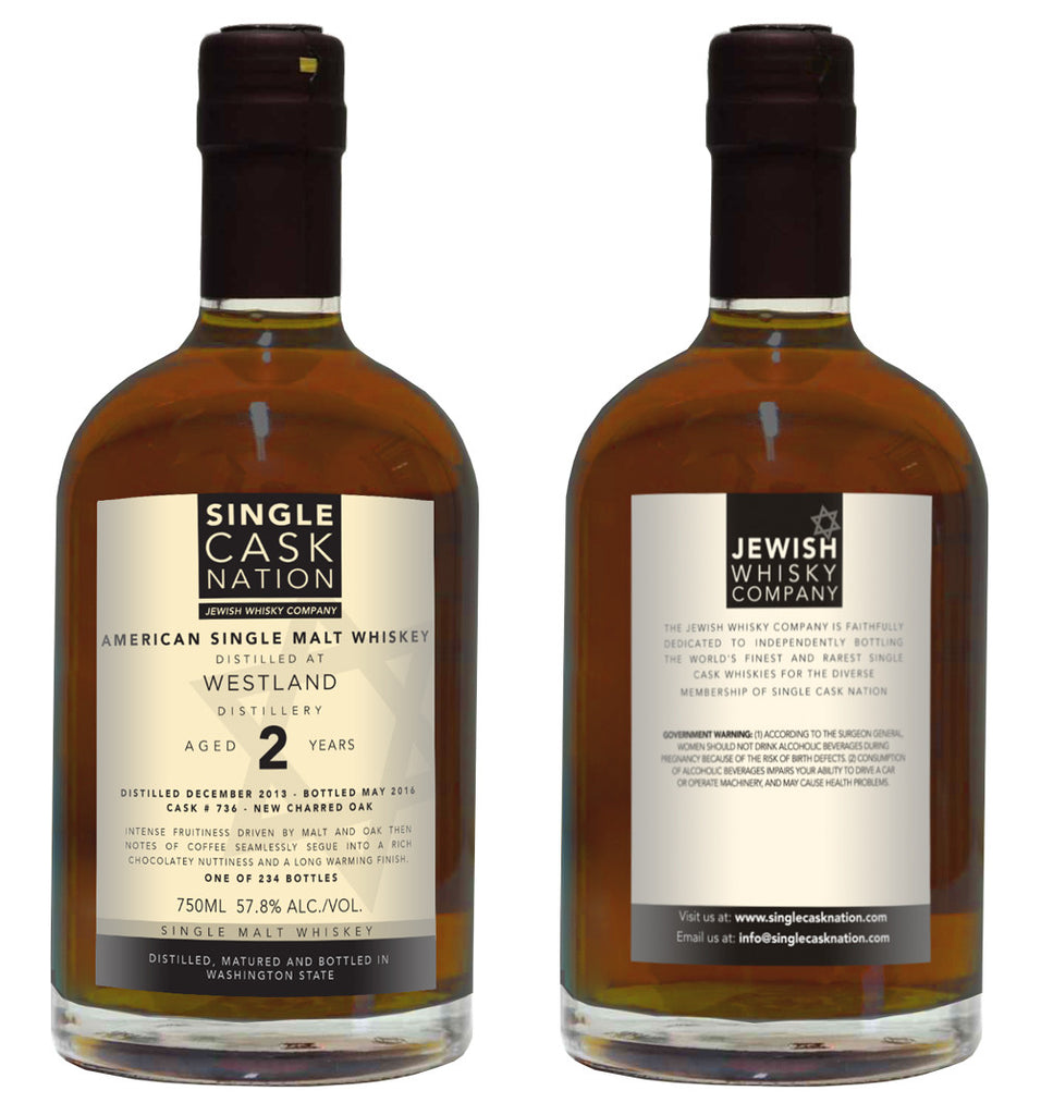 Westland 2, New Charred Oak Single Malt