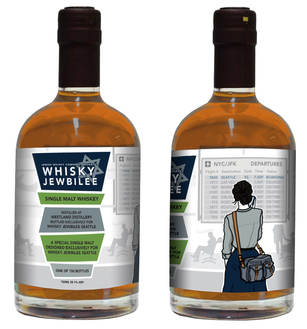 Whisky Jewbilee Seattle Festival Bottling 2016 - Single Cask Nation®
