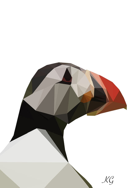 LowPoly PUFFIN