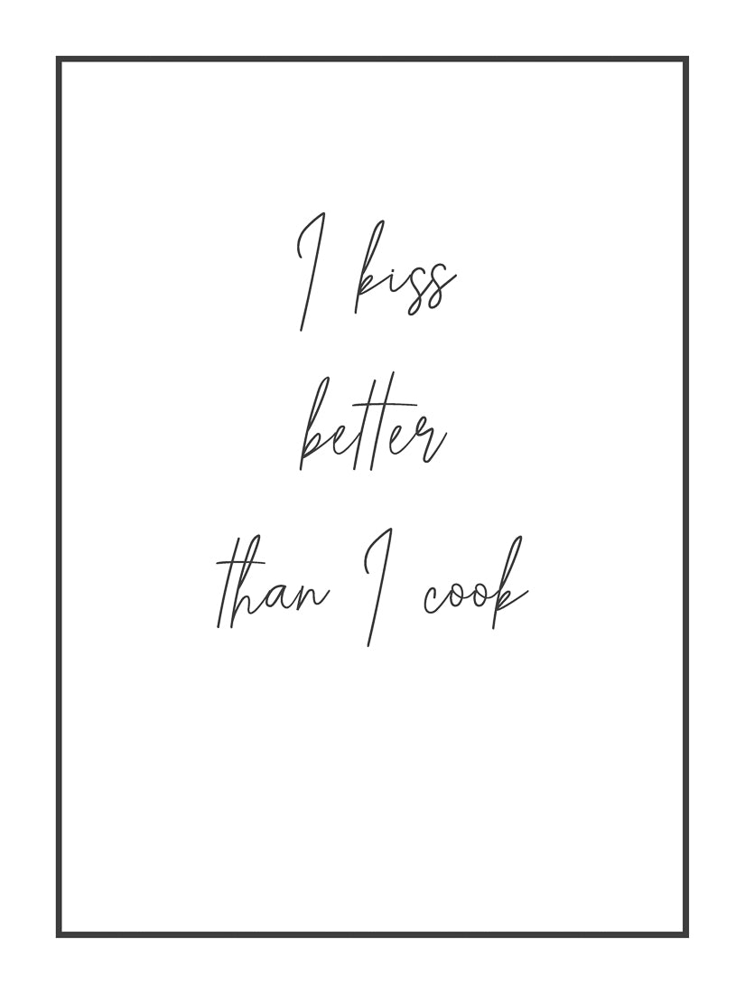 Quotes (9) - I kiss