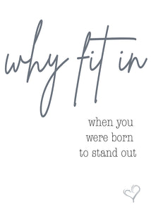 Quotes - Why fit in
