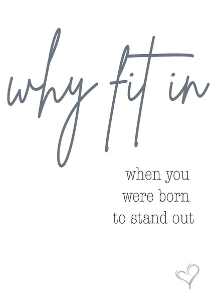 Quotes (16) - Why fit in