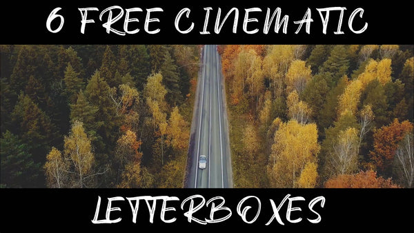 Free Cinematic Letterboxes