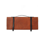 Knife Roll - Leather - Cognac