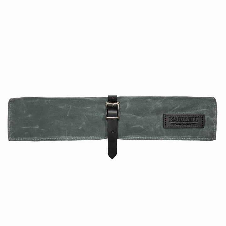 Compact Knife Roll - Waxed Canvas - Charcoal