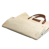 Grocery Tote - Waxed Canvas - Natural