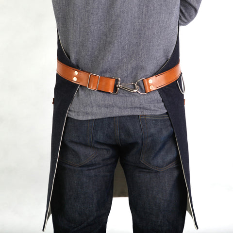 Rugged Apron - Waxed Denim - Indigo