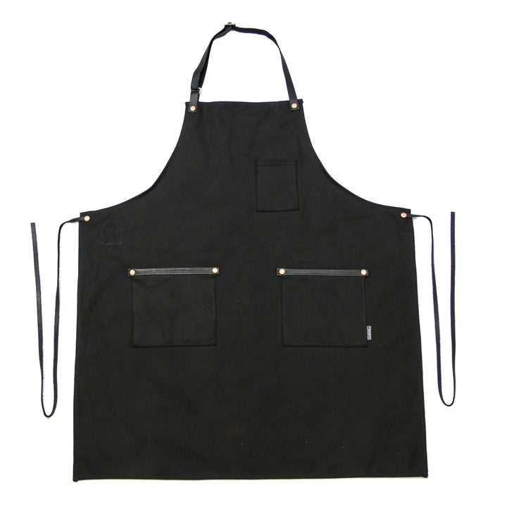Industry Apron - Standard Canvas - Black