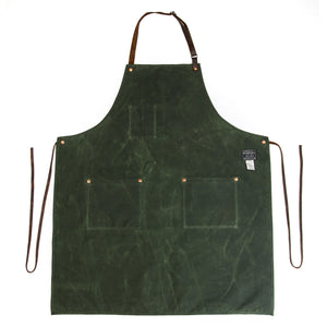 Industry Apron - Waxed Canvas - Olive