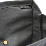 Lunch Tote - Waxed Canvas - Charcoal